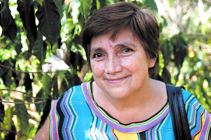 Teresa Riviera Palacios, coffee farmer