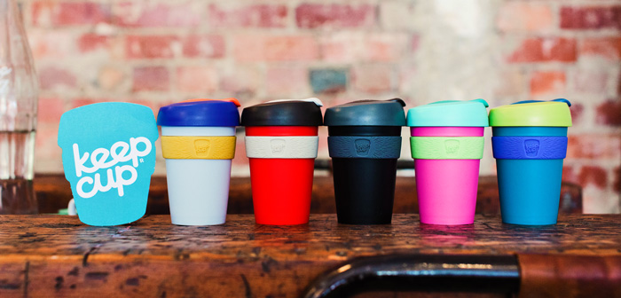 Colourful KeepCups