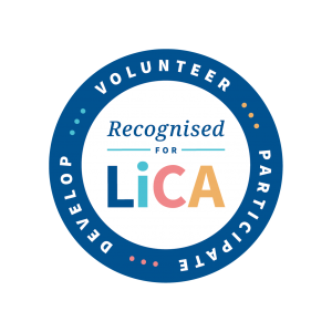 LiCA accreditation badge