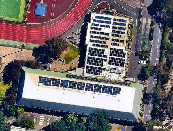 Melbourne University Sport Rooftop Solar