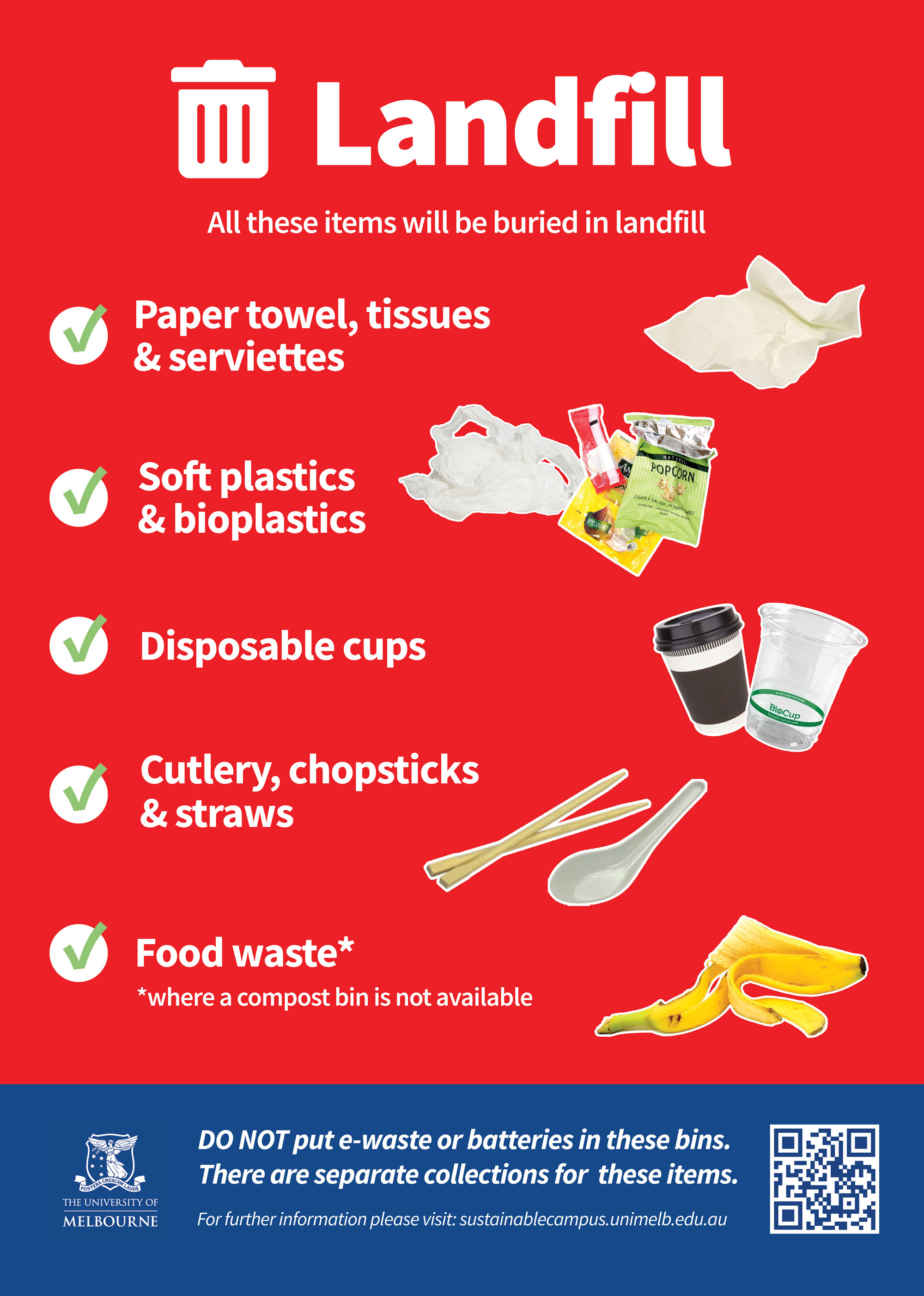 landfill waste poster